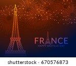 illustration card banner or... | Shutterstock .eps vector #670576873
