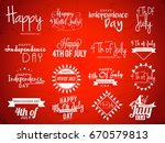 ha4th of july independence day... | Shutterstock .eps vector #670579813