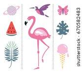 trendy design elements | Shutterstock .eps vector #670582483