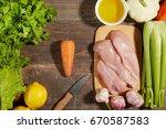 healthy diet italian lifestyle  ... | Shutterstock . vector #670587583