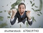 young successful businessman...   Shutterstock . vector #670619743