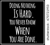 funny  inspirational quotation... | Shutterstock .eps vector #670721953