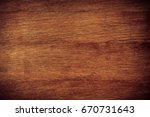 vintage stained wooden wall... | Shutterstock . vector #670731643