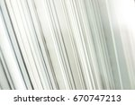 close up of stack of papers | Shutterstock . vector #670747213