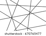 abstract white background with... | Shutterstock . vector #670765477