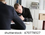 the collector tries to call the ...   Shutterstock . vector #670778527