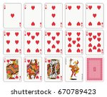 Playing Cards  Heart Suit ...
