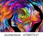 colors in us series. interplay... | Shutterstock . vector #670857217