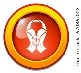 woman corset icon   Shutterstock .eps vector #670865023