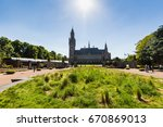 the hague  netherlands   may 26 ... | Shutterstock . vector #670869013