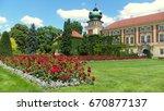 Poland  Lancut  The Palace Of...