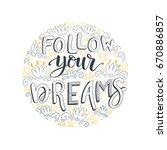 vector hand drawn vintage... | Shutterstock .eps vector #670886857