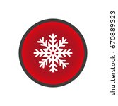 snowflake icon | Shutterstock .eps vector #670889323