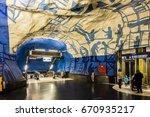 stockholm  sweden   june 21 ... | Shutterstock . vector #670935217