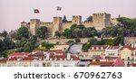 st georges castle on the hill... | Shutterstock . vector #670962763