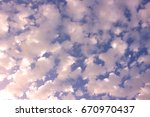 sky. beautiful sky with clouds. ... | Shutterstock . vector #670970437