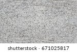 part of white painted brick... | Shutterstock . vector #671025817