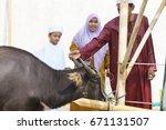 kiulu sabah malaysia   sep 24 ... | Shutterstock . vector #671131507