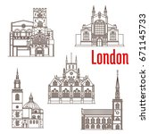 London City Landmark Buildings...