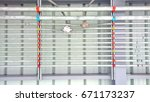 the connection wires in the...   Shutterstock . vector #671173237
