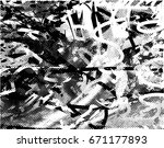 background black and white... | Shutterstock .eps vector #671177893