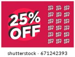 set of discounts 25  off...