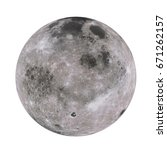 highly detailed moon on... | Shutterstock . vector #671262157