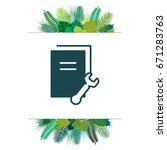 document settings icon. vector...