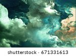the colors in the series  fancy ...   Shutterstock . vector #671331613