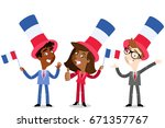 vector cartoon illustration of... | Shutterstock .eps vector #671357767