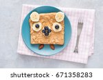 breakfast   snack   school... | Shutterstock . vector #671358283