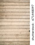 close up of gray wooden fence... | Shutterstock . vector #671448097
