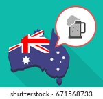 illustration of a long shadow...   Shutterstock .eps vector #671568733