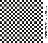 popular checker chess square... | Shutterstock .eps vector #671583067