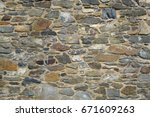 Old Stone Wall Texture...