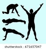 training sport and health man...