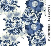 abstract elegance seamless... | Shutterstock .eps vector #671669953