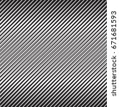 abstract black diagonal striped ... | Shutterstock .eps vector #671681593