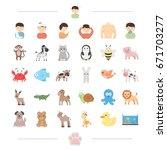 medicine  prevention  ecology... | Shutterstock .eps vector #671703277