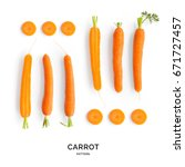 Seamless Pattern With Carrot....