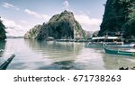 in  philippines  view from a... | Shutterstock . vector #671738263