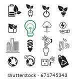 environment icon concept. the... | Shutterstock .eps vector #671745343