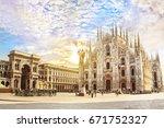 cathedral duomo di milano and...