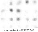 abstract halftone dotted... | Shutterstock .eps vector #671769643