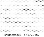 abstract halftone dotted... | Shutterstock .eps vector #671778457