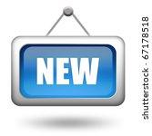new sign | Shutterstock . vector #67178518