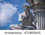 Small photo of Classical Greek Figurine