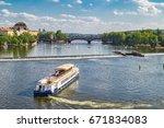 prague  czech republic   august ... | Shutterstock . vector #671834083