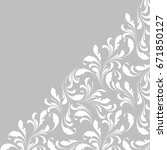 lace border for decoration of... | Shutterstock .eps vector #671850127
