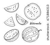 vector illustration of... | Shutterstock .eps vector #671886313
